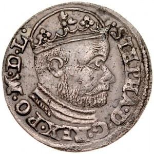 Stefan Batory 1576-1586, Trojak 1585, Olkusz.