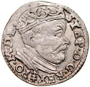 Stefan Batory 1576-1586, Trojak 1585, Wilno.