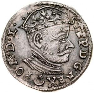 Stefan Batory 1576-1586, Trojak 1582, Wilno.