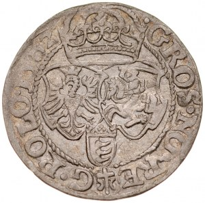 Stefan Batory 1576-1586, Grosz 1582, Olkusz. RRR