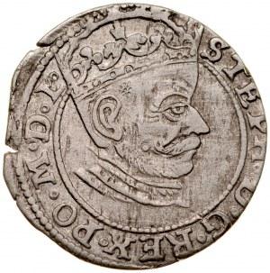Stefan Batory 1576-1586, Grosz 1581, Ryga.
