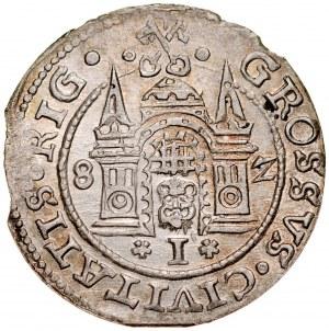 Stefan Batory 1576-1586, Grosz 1582, Ryga.