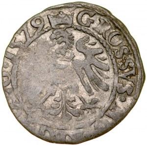 Stefan Batory 1576-1586, Grosz 1579, Olkusz.