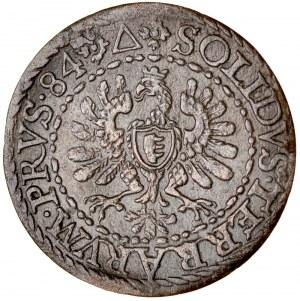 Stefan Batory 1576-1586, Szeląg 1584, Malbork.