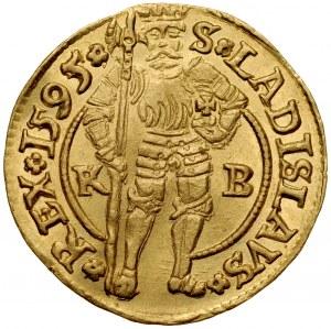 Węgry, Rudolf II 1576-1608, Dukat 1595, Kremnica.