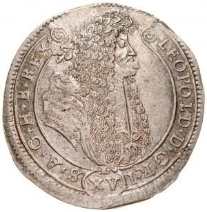 Węgry, Leopold I 1657-1705, XV krajcarów 1688, Kremnica.