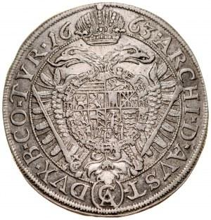 Austria, Leopold I 1657-1705, XV krajcarów 1663, Wiedeń.
