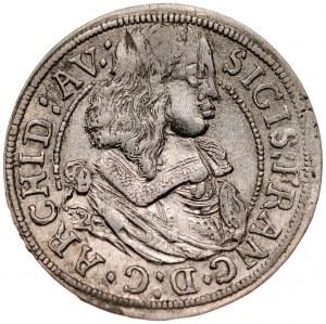 Austria, Zygmunt Franciszek 1662-1665, 3 krajcary 1663, Hall in Tirol.