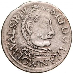 Transylwania, Zygmunt Batory 1581-1602, Trojak 1597, Nagybanya?