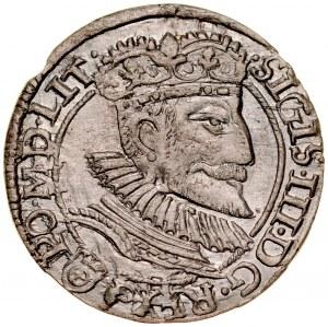 Zygmunt III 1587-1632, Grosz 1593, Olkusz.