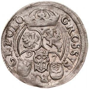 Zygmunt III 1587-1632, Grosz 1597, Poznań.