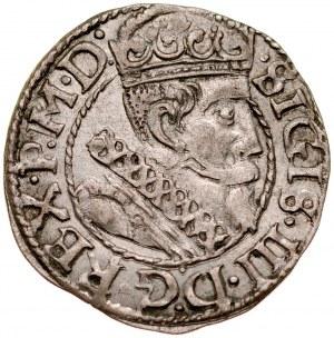 Zygmunt III 1587-1632, Grosz 1613, Kraków. R.