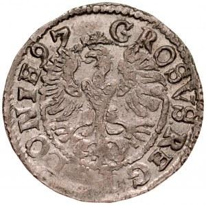 Zygmunt III 1587-1632, Grosz 1597, Lublin.