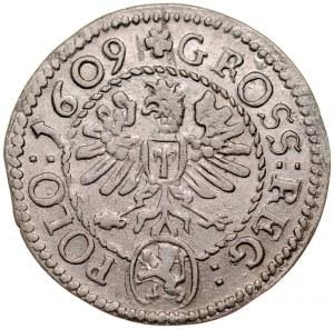 Zygmunt III 1587-1632, Grosz 1609, Kraków.