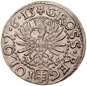 Zygmunt III 1587-1632, Grosz 1613, Kraków.