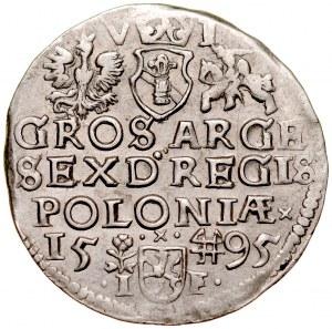 Zygmunt III 1587-1632, Szóstak 1595, Wschowa. RRR.