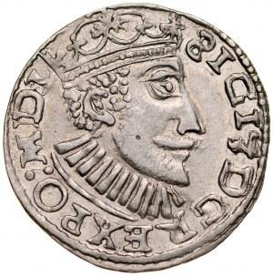 Zygmunt III 1587-1632, Imitacja, Trojak 1591.