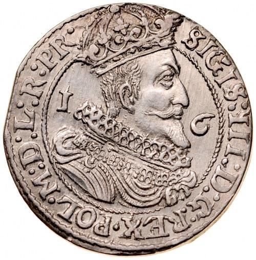 Zygmunt III 1587-1632, Ort 1626, Gdańsk.