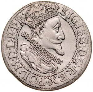 Zygmunt III 1587-1632, Ort 1614, Gdańsk.