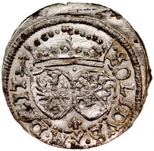 Zygmunt III 1587-1632, Szeląg 1617, Wilno.