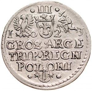 Zygmunt III 1587-1632, Trojak 1623, Kraków.