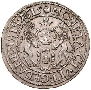 Zygmunt III 1587-1632, Ort 1615, Gdańsk.
