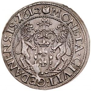 Zygmunt III 1587-1632, Ort 1612, Gdańsk.