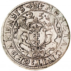 Zygmunt III 1587-1632, Ort 1625, Gdańsk.