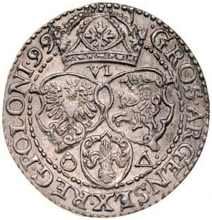 Zygmunt III 1587-1632, Szóstak 1599, Malbork.