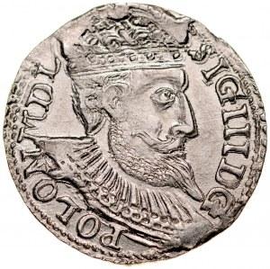 Zygmunt III 1587-1632, Trojak 1598, Olkusz.