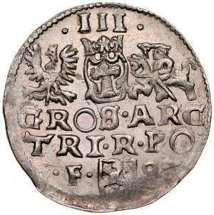 Zygmunt III 1587-1632, Trojak 1599, Wschowa.