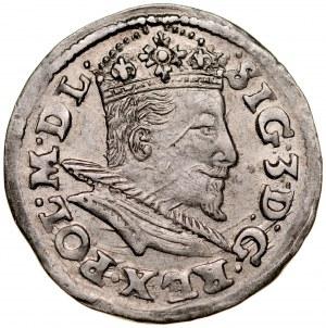 Zygmunt III 1587-1632, Trojak 1595, Lublin.
