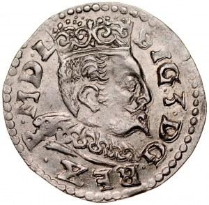 Zygmunt III 1587-1632, Trojak 1596, Lublin.