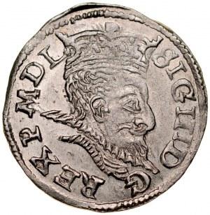 Zygmunt III 1587-1632, Trojak 1598, Lublin.