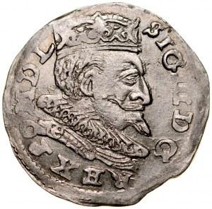 Zygmunt III 1587-1632, Trojak 1599, Lublin.
