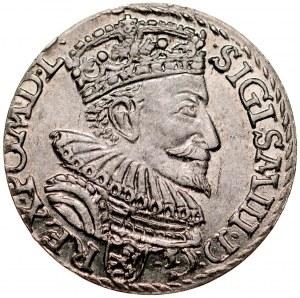 Zygmunt III 1587-1632, Trojak 1594, Malbork.