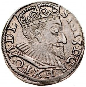 Zygmunt III 1587-1632, Trojak 1594, Poznań.