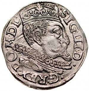 Zygmunt III 1587-1632, Trojak 1598, Poznań.