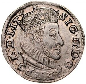 Zygmunt III 1587-1632, Trojak 1590, Olkusz.