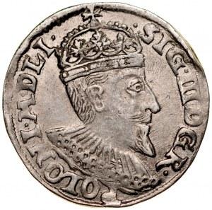 Zygmunt III 1587-1632, Trojak 1594, Olkusz.