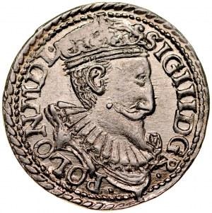 Zygmunt III 1587-1632, Trojak 1597, Olkusz.
