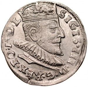 Zygmunt III 1587-1632, Trojak 1592, Wilno.