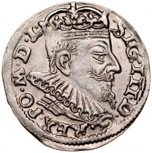 Zygmunt III 1587-1632, Trojak 1593, Wilno.