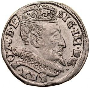 Zygmunt III 1587-1632, Trojak 1595, Wilno.