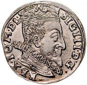 Zygmunt III 1587-1632, Trojak 1597, Wilno.