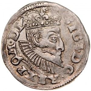 Zygmunt III 1587-1632, Trojak 1596, Poznań.