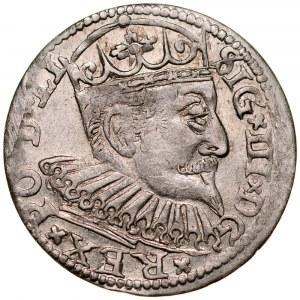 Zygmunt III 1587-1632, Trojak 1598, Ryga.