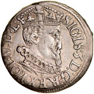Zygmunt III 1587-1632, Trojak 1619, Ryga.