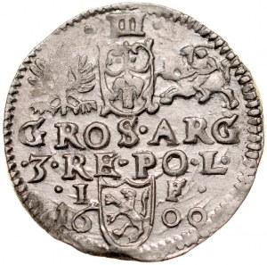 Zygmunt III 1587-1632, Trojak 1600, Lublin.