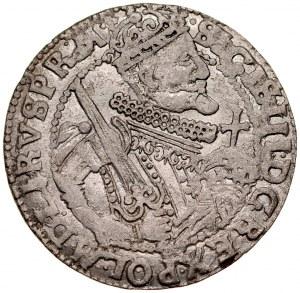 Zygmunt III 1587-1632, imitacja, Ort 1624, Bydgoszcz.